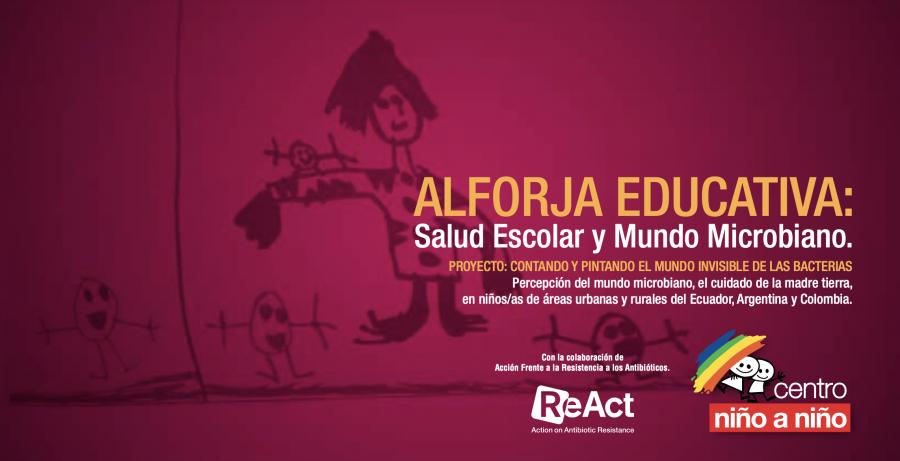 """Experiencia de Ecuador en el Proyecto """"Contando y pintando el mundo invisible de las bacterias"""""""